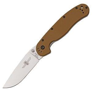 Ontario Rat 1 коричневая рукоять