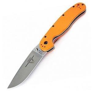 Ontario Rat 1 оранжевая рукоять