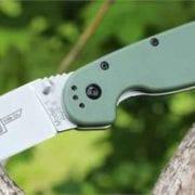 Ontario Rat Folder 1 зеленая рукоять, модель ON8848OD-R-40