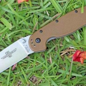 Ontario Rat Folder 1 коричневая рукоять, модель ON8848CB-R-21
