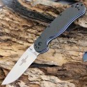 Ontario Rat Folder 1 сталь D2, карбоновая рукоять, модель ON8867CF