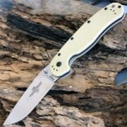 Ontario Rat Folder 1 сталь D2, бежевая рукоять (Tan), модель ON8867TN