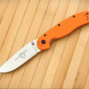 Ontario Rat Folder II оранжевая рукоять, модель ON8860OR