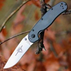 Ontario Rat Folder II карбоновая рукоять, модель ON8836
